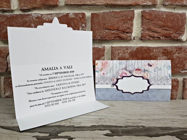 Invitatie nunta cod 5649 3
