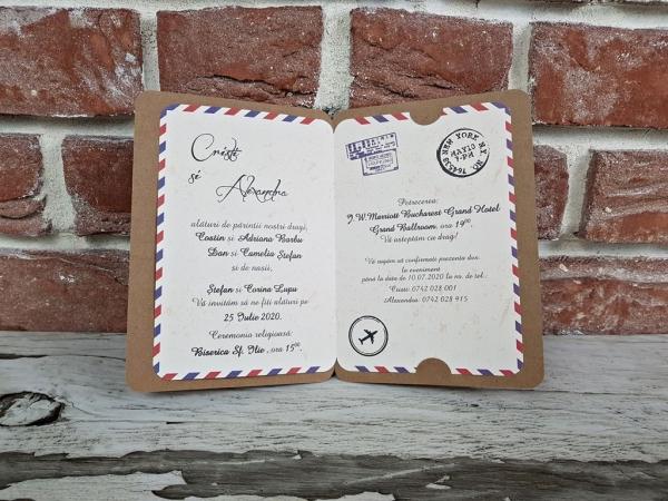 Invitatie nunta cod 11548 4