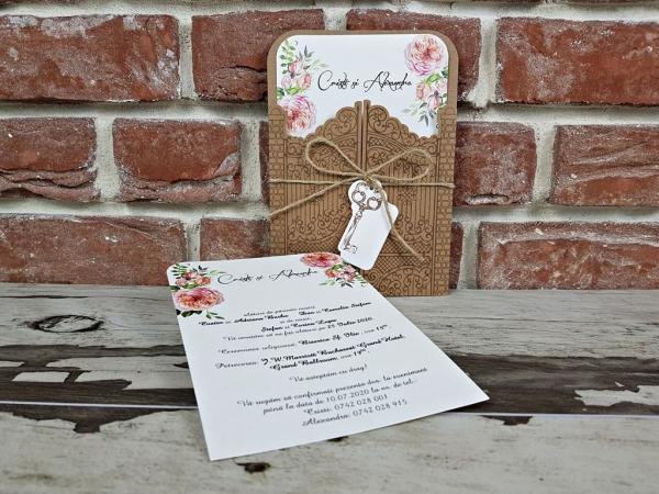 Invitatie nunta cod 5591 0