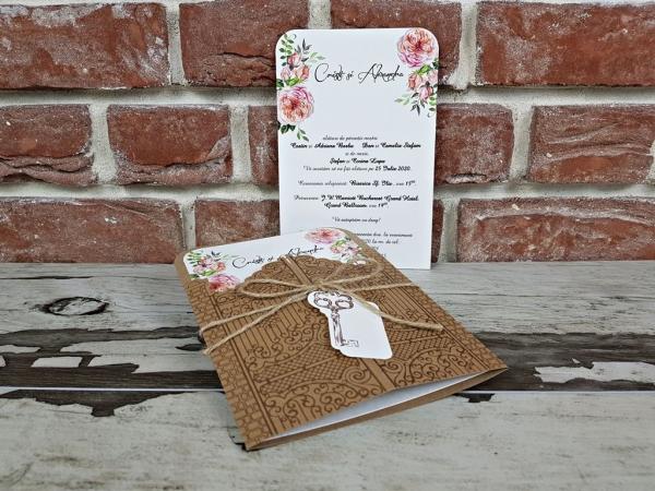 Invitatie nunta cod 5591 6