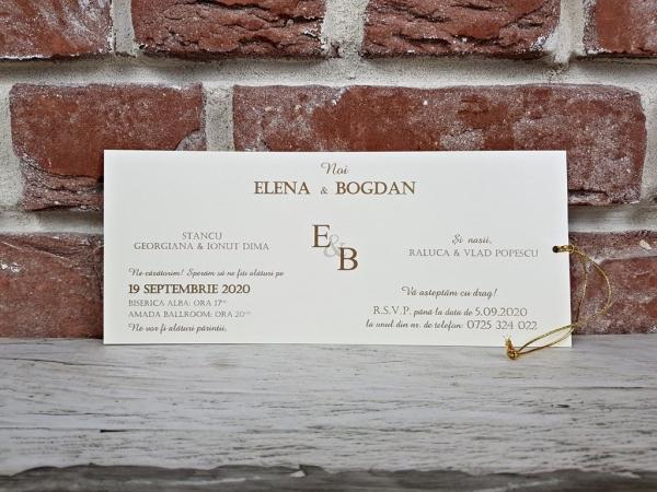 Invitatie nunta cod 5592 4