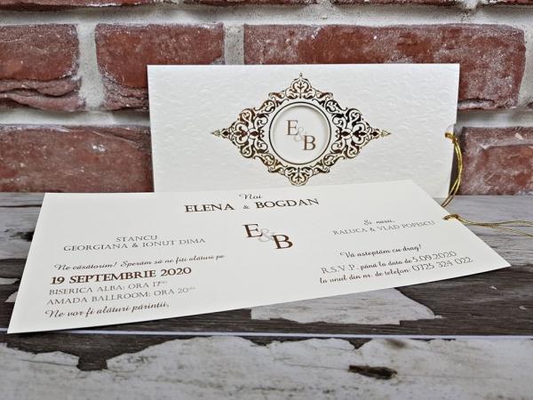 Invitatie nunta cod 5592 3