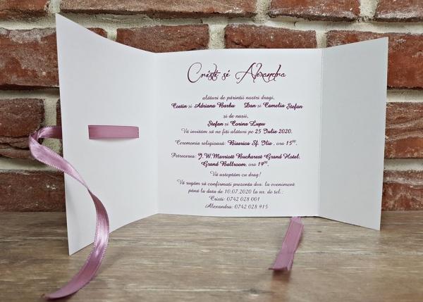 Invitatie nunta cod 5594 2