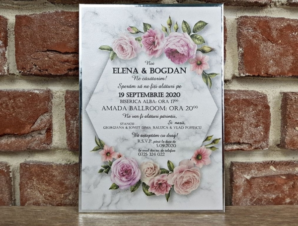 Invitatie nunta cod 5595 3