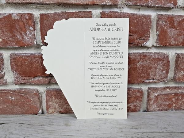 Invitatie nunta cod 5651 4