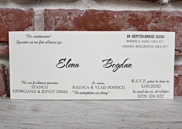 Invitatie nunta cod 5600 3