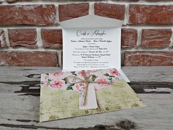 Invitatie nunta cod 5601 2