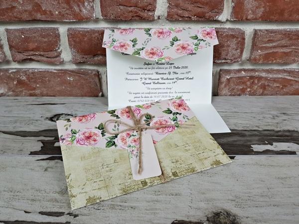 Invitatie nunta cod 5601 3