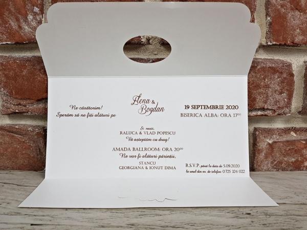 Invitatie nunta cod 5630 5