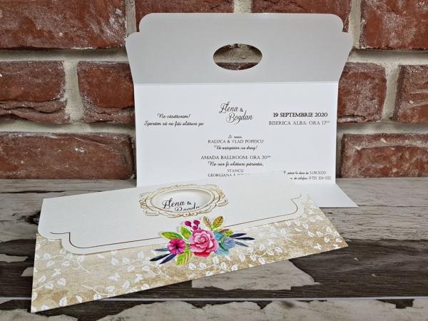 Invitatie nunta cod 5630 4