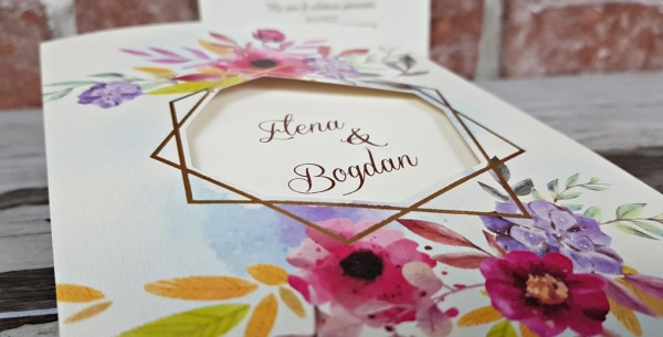 Invitatie nunta cod 5604 6