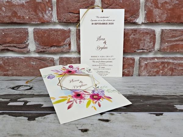 Invitatie nunta cod 5604 4