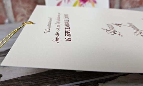 Invitatie nunta cod 5604 7