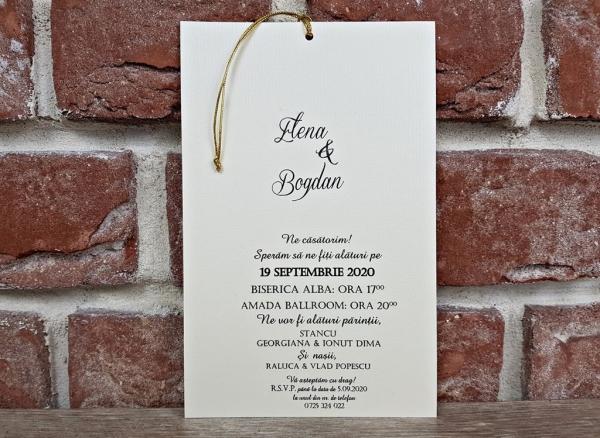 Invitatie nunta cod 5598 3