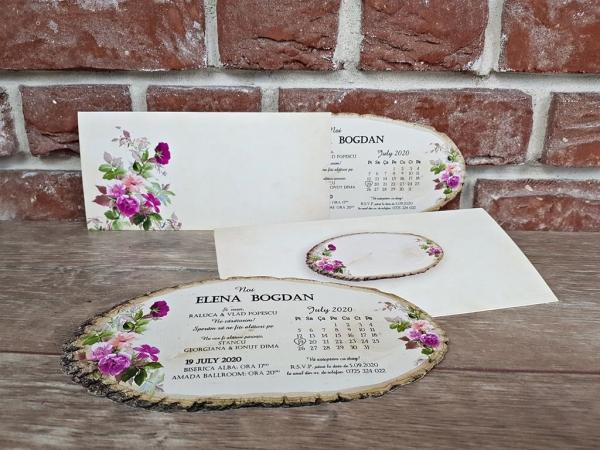 Invitatie nunta cod 5607 3