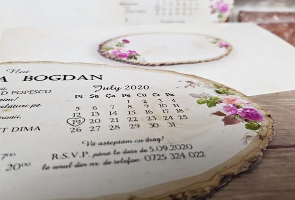 Invitatie nunta cod 5607 4