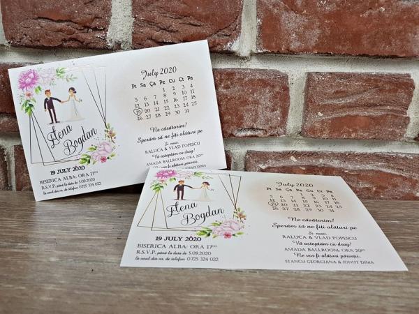 Invitatie nunta cod 5636 3