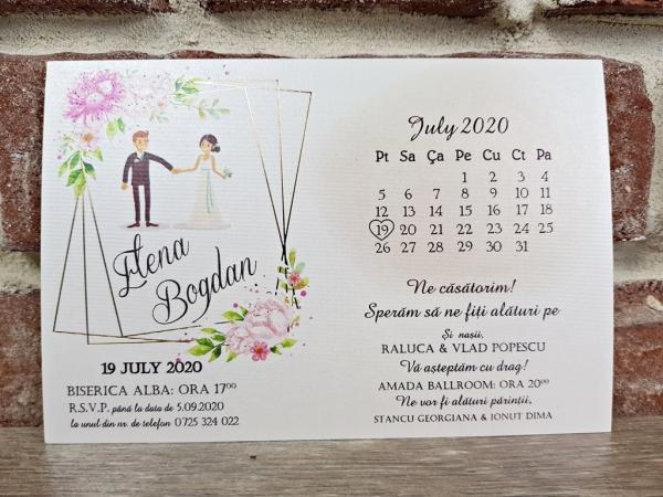 Invitatie nunta cod 5636 0