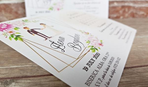 Invitatie nunta cod 5636 2