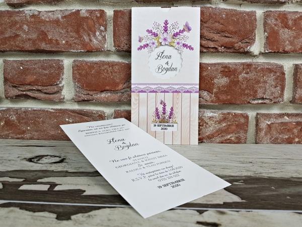 Invitatie nunta cod 5613 2