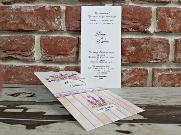 Invitatie nunta cod 5613 4