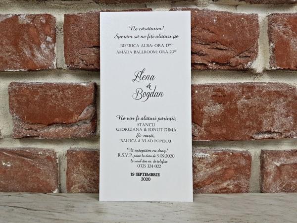 Invitatie nunta cod 5613 3