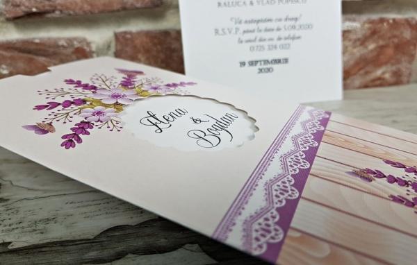 Invitatie nunta cod 5613 5