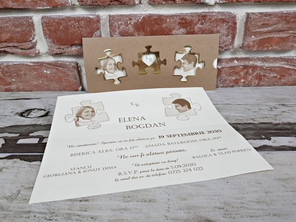 Invitatie nunta cod 5615 4