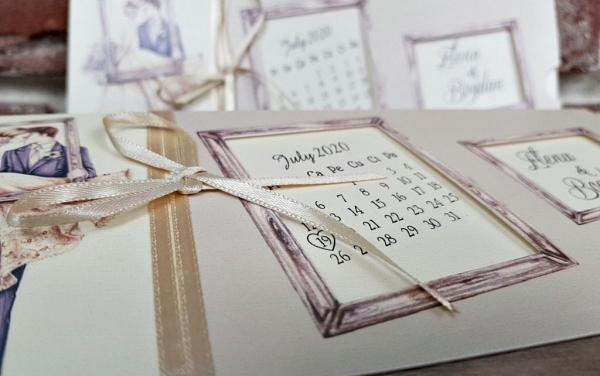Invitatie nunta cod 5616 4