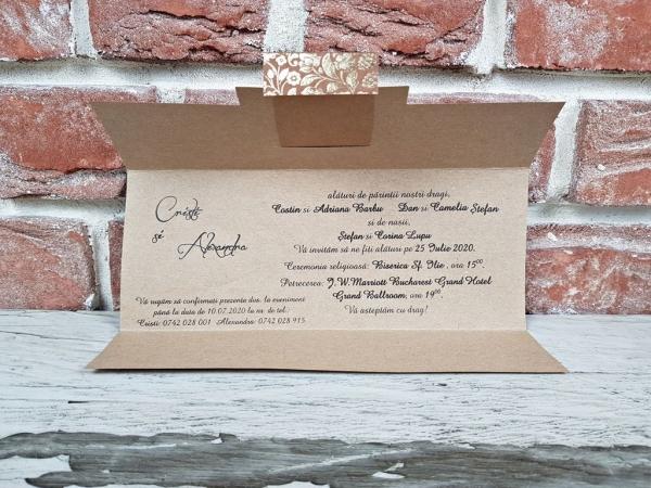 Invitatie nunta cod 5619 2