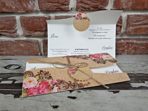 Invitatie nunta cod 5622 6