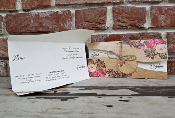 Invitatie nunta cod 5622 4