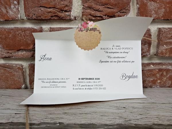 Invitatie nunta cod 5622 5