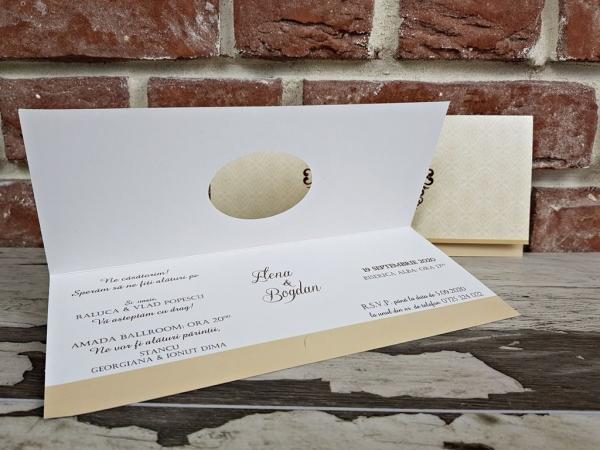 Invitatie nunta cod 5620 2