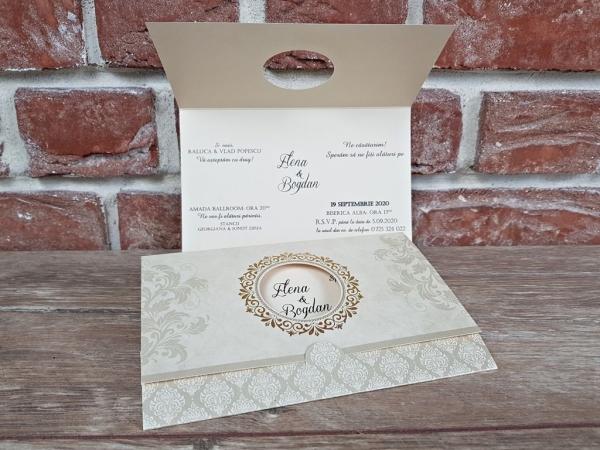 Invitatie nunta cod 5623 3
