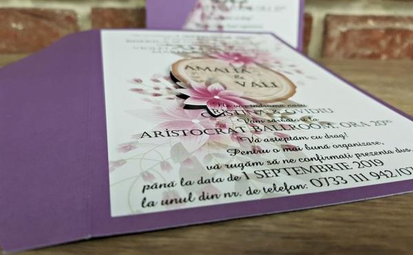 Invitatie nunta cod 5599 3