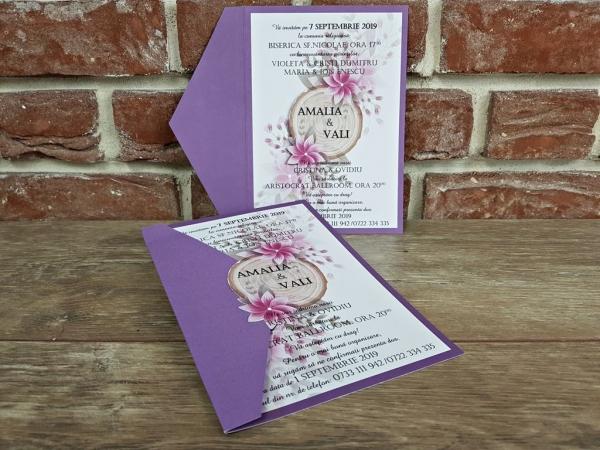 Invitatie nunta cod 5599 4