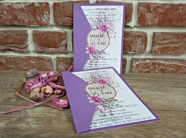 Invitatie nunta cod 5599 1