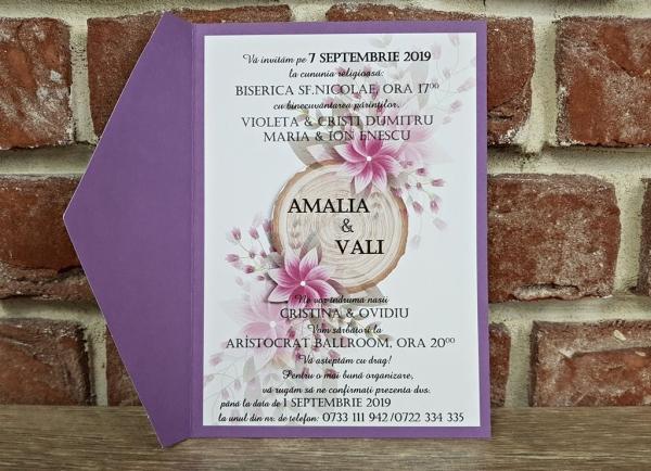 Invitatie nunta cod 5599 5