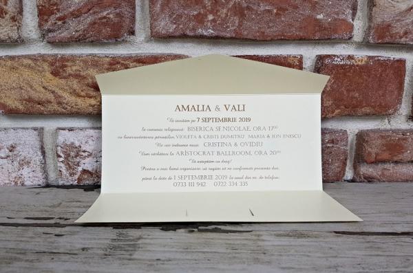 Invitatie nunta cod 5635 2