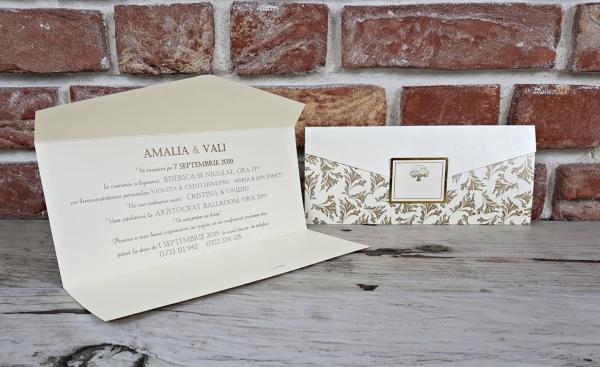 Invitatie nunta cod 5635 6