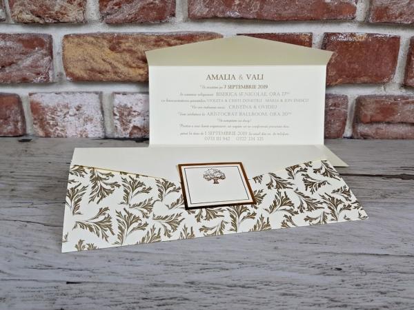Invitatie nunta cod 5635 3