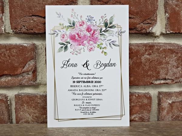 Invitatie nunta cod 5637 0