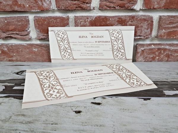 Invitatie nunta cod 5639 1