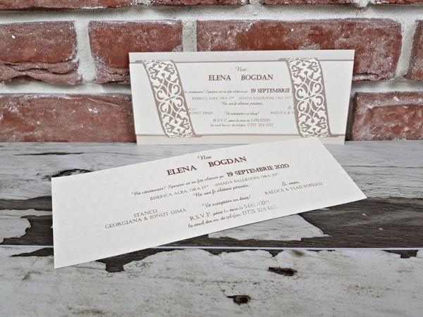 Invitatie nunta cod 5639 2