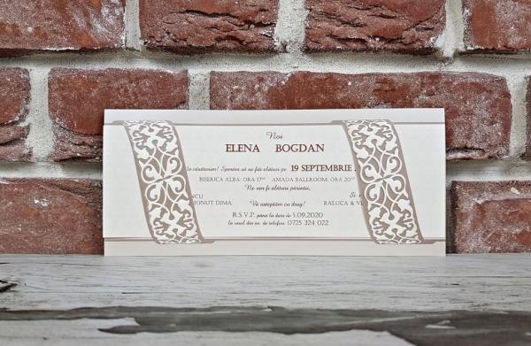 Invitatie nunta cod 5639 0