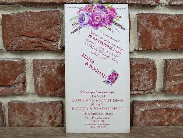Invitatie nunta cod 5593 3