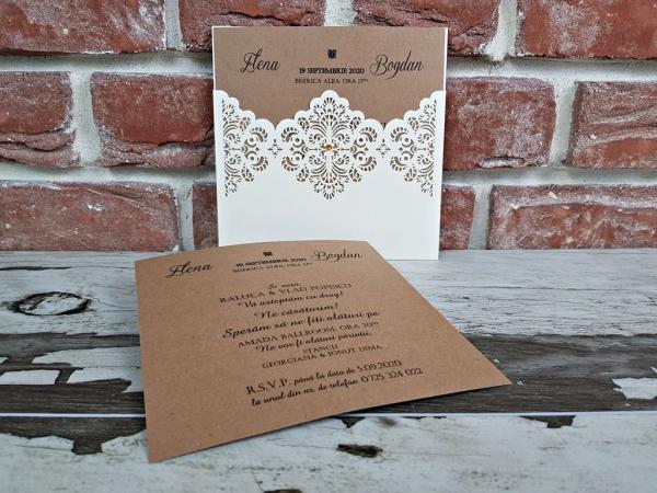 Invitatie nunta cod 5642 2