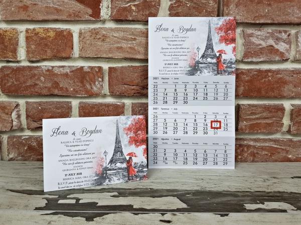 Invitatie nunta cod 5643 3