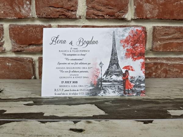 Invitatie nunta cod 5643 4